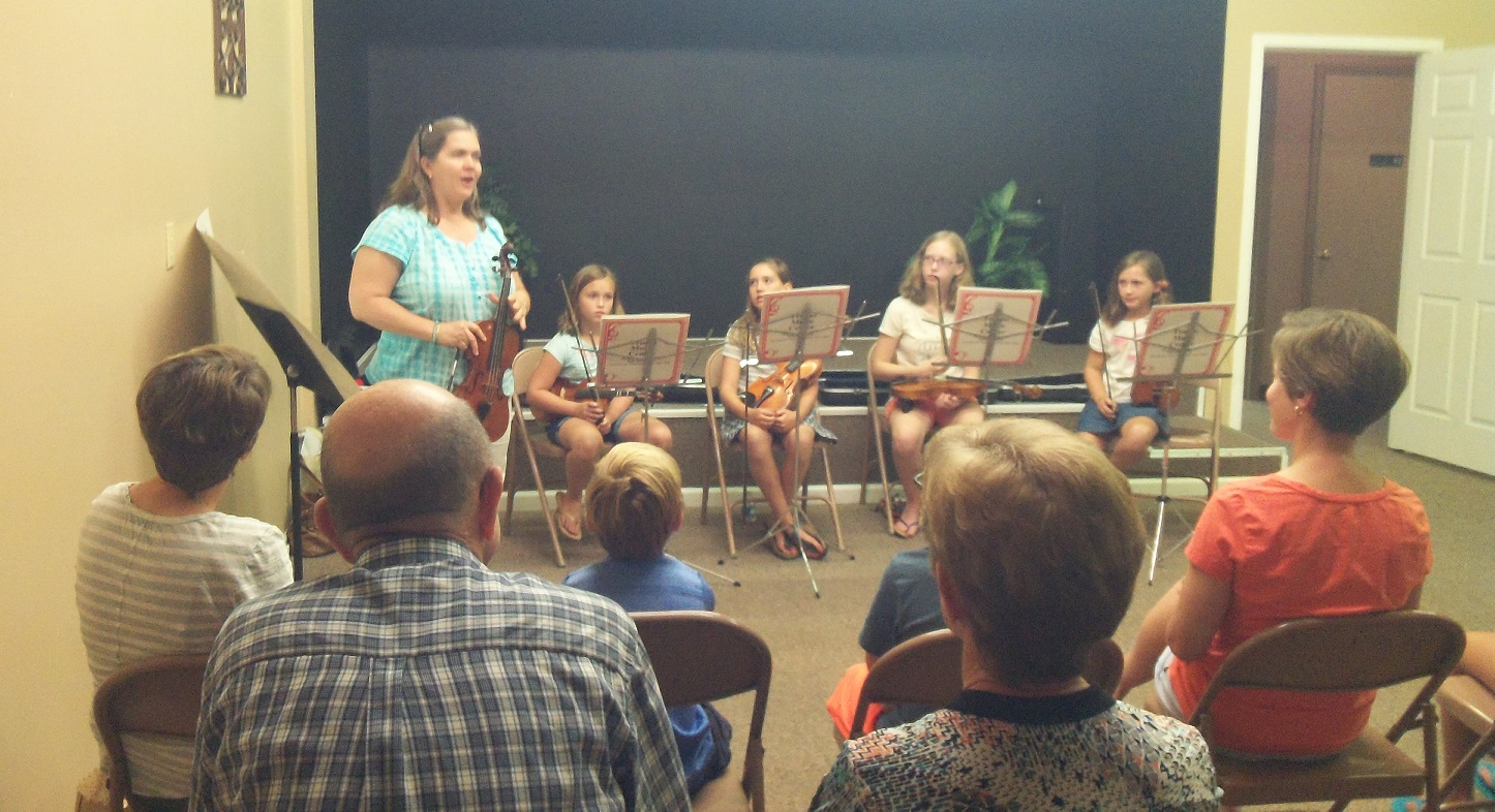 Music Academy of WNC summer camp presentation 2