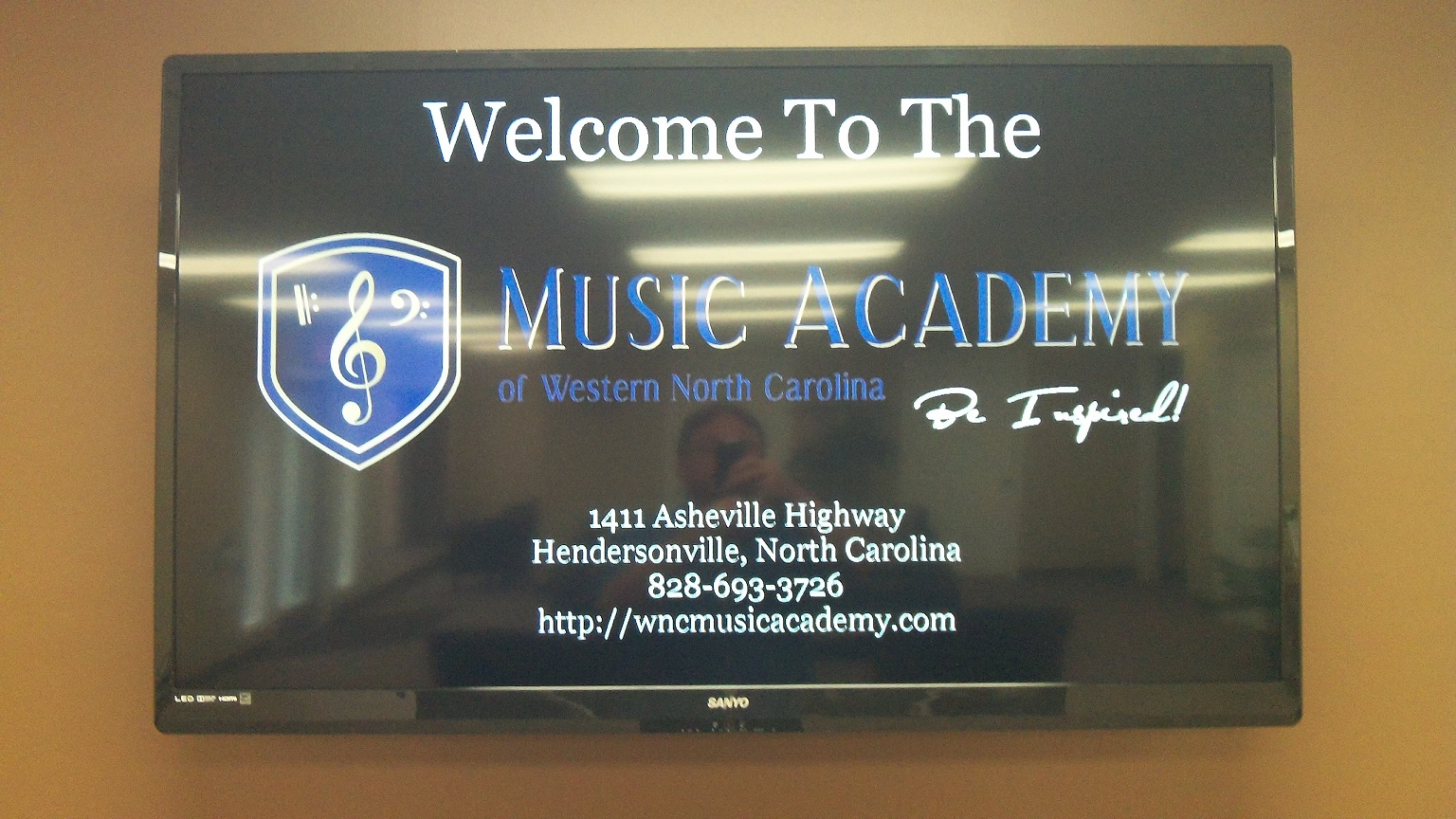 Our Digital Lobby Billboard Keeps Parents and Student Updated With Upcoming Events