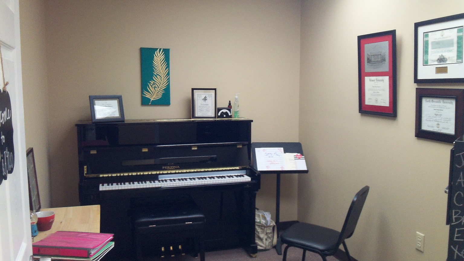 Piano Teaching Studio