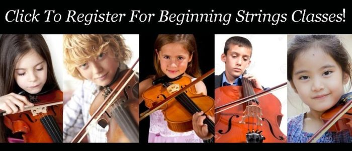 Click HERE To Register For Beginning Strings Classes